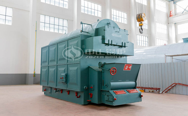 4 tph DZL biomass-fired fire tube boiler project for food industry